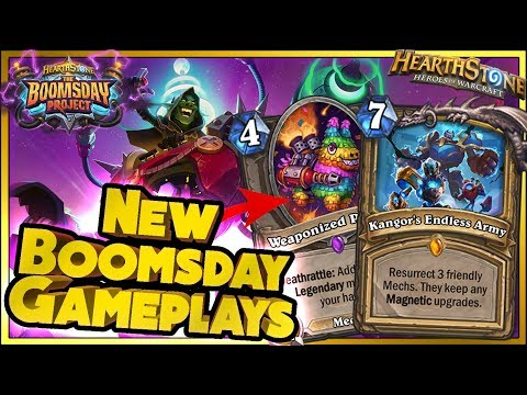 BOOMSDAY GAMEPLAYS - Hearthstone WTF Moments - Daily Funny Rng Plays