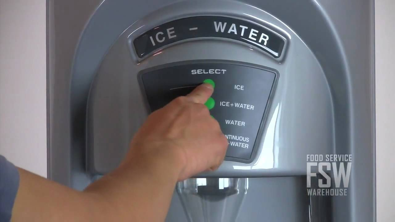 Countertop Ice Maker Youtube : IceOMatic (GEMD270) 273 Lb Pearl Ice Machine with Dispenser - YouTube