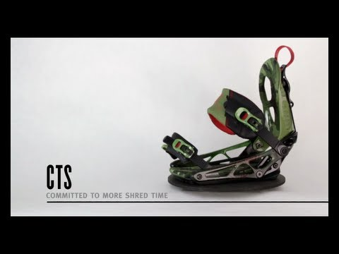 K2 Cinch CTS Snowboard Bindings - Black