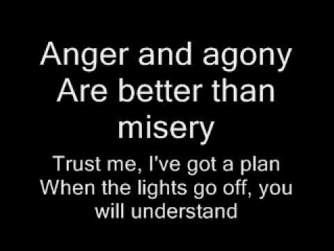 Three Days Grace-Pain Lyrics,