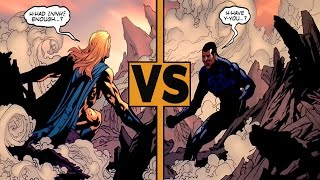 Sentry vs Blue Marvel