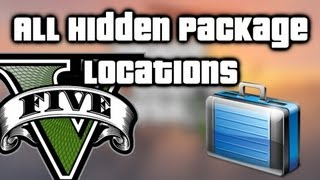 GTA V (5) All Hidden Packages Locations Easy $150,000