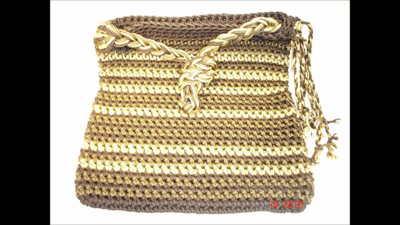 Cool paracord stuff 7 paracord bags slide show youtube for How to make a paracord bag