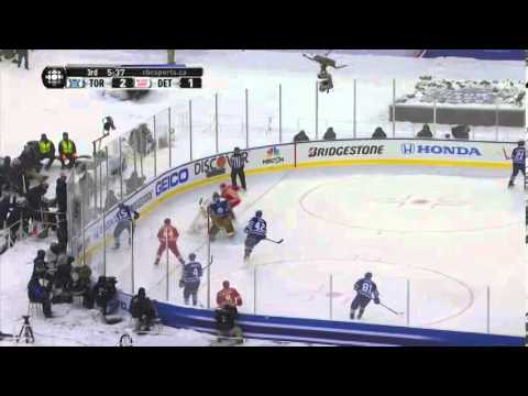 Toronto Maple Leafs at Detroit Red Wings - Winter Classic Highlights - 01/01/2014