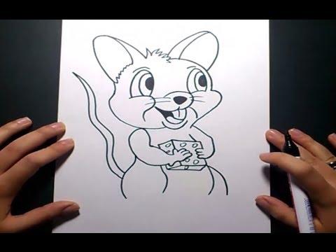 como dibujar un raton paso a paso 4 pintaycrea over blog com