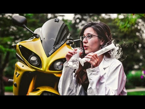 Day in the life of a SCIENTIST👩🔬(& MOTORCYCLES!😍)