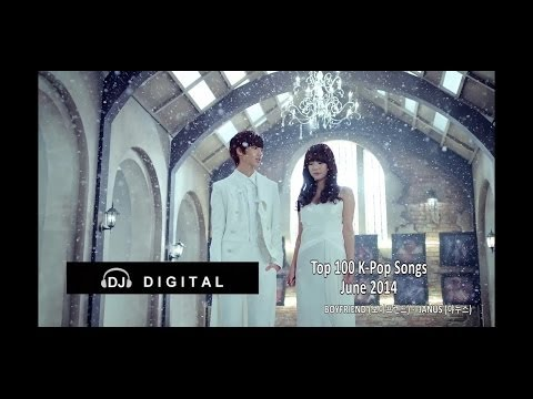 Top 100 K-Pop For June 2014 (Month End Chart)