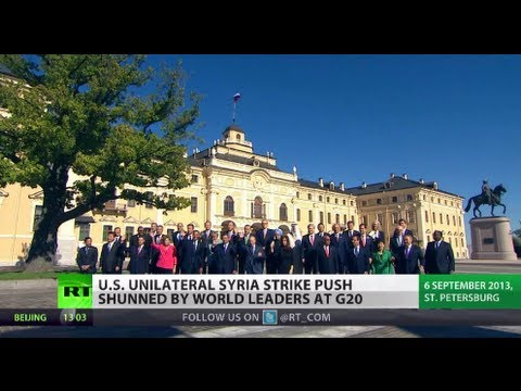 Divided They Stand: Syria split G20 as US beats drums of war