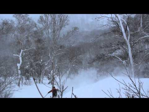 skiing in Japan - 日本で滑った