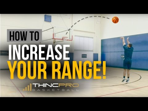 How to: Increase Your SHOOTING RANGE In Basketball! (PRO RANGE DRILL)