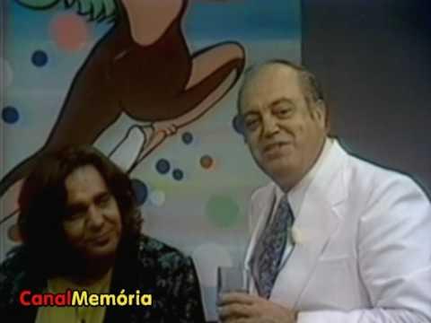 """""""Clube dos Artistas"""" / Tv Tupi (1976) - Ayrton e Lolita recebem os convidados"""