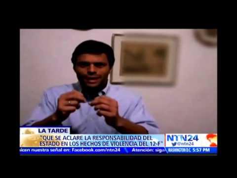 Leopoldo López confirma que liderará una movilización el próximo 18 de febrero