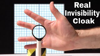 I Made a Real-Life Invisibility Cloak! Watch My Hand Disappear With My Homemade Rochester Cloak!