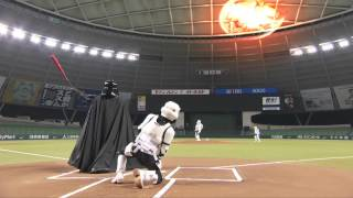 Darth Vader Plays Baseball In Japan