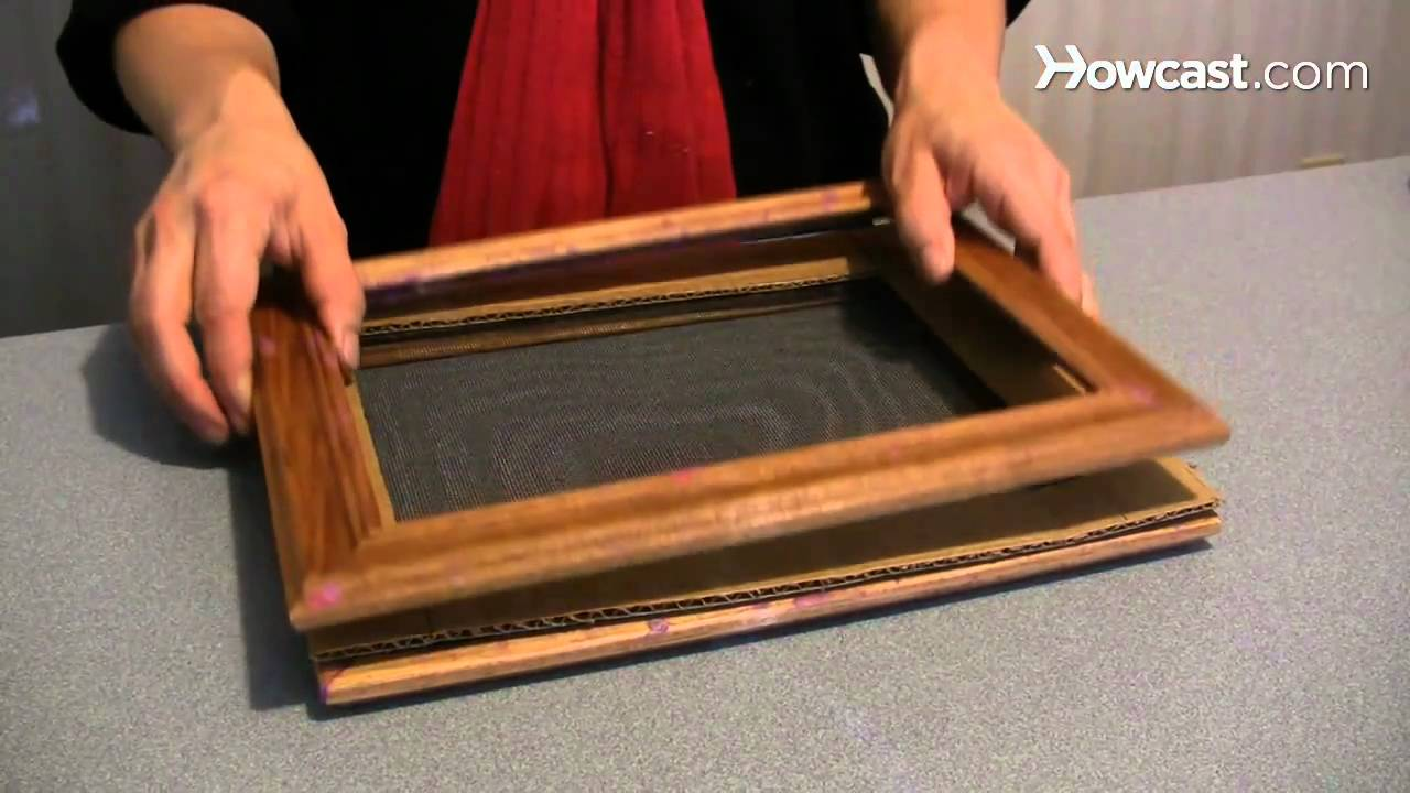 how to make a handmade paper picture frame youtube. Black Bedroom Furniture Sets. Home Design Ideas