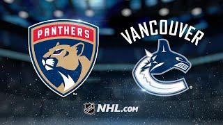 Bjugstad, Reimer lead Panthers past Canucks, 4-3