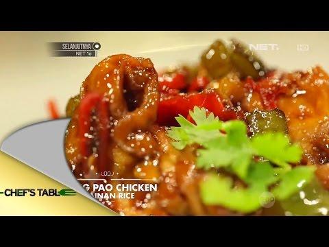 Kung Pao Chicken Hainan Rice - Natasha Rizki - Chef's Table