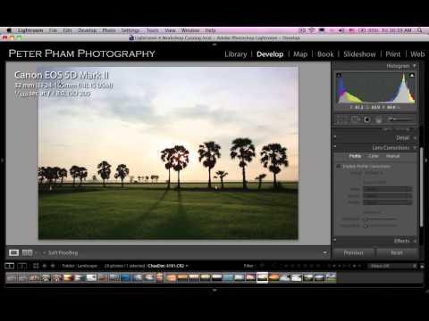 Học Lightroom 4 - 037 Xử lý hình phong cảnh 1