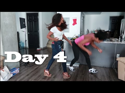 SHE KNOCKED HER OUT! - Day 4