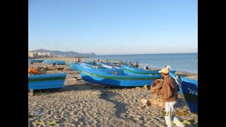 2008 Maroc Nord, Tétouan, La Plage De Martil, Dans Le Rif