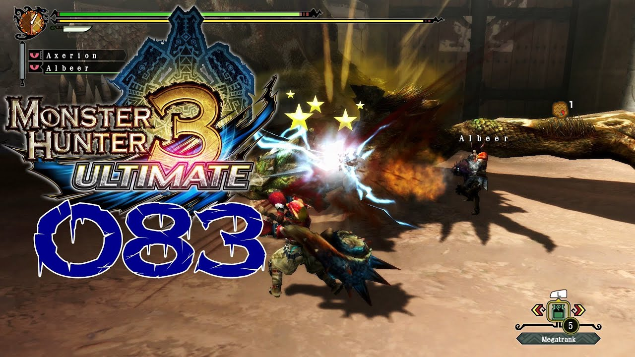 monster hunter 3 ultimate online spielen