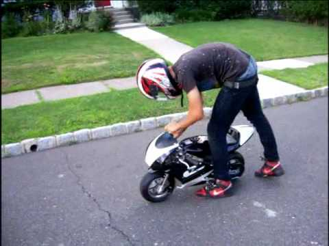 Mini Grand Prix racing bike