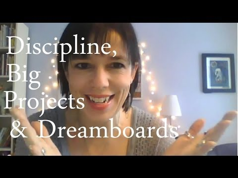 Discipline, Big Projects & Dreamboards: BtS Jamie Ridler Studios 17 Jan