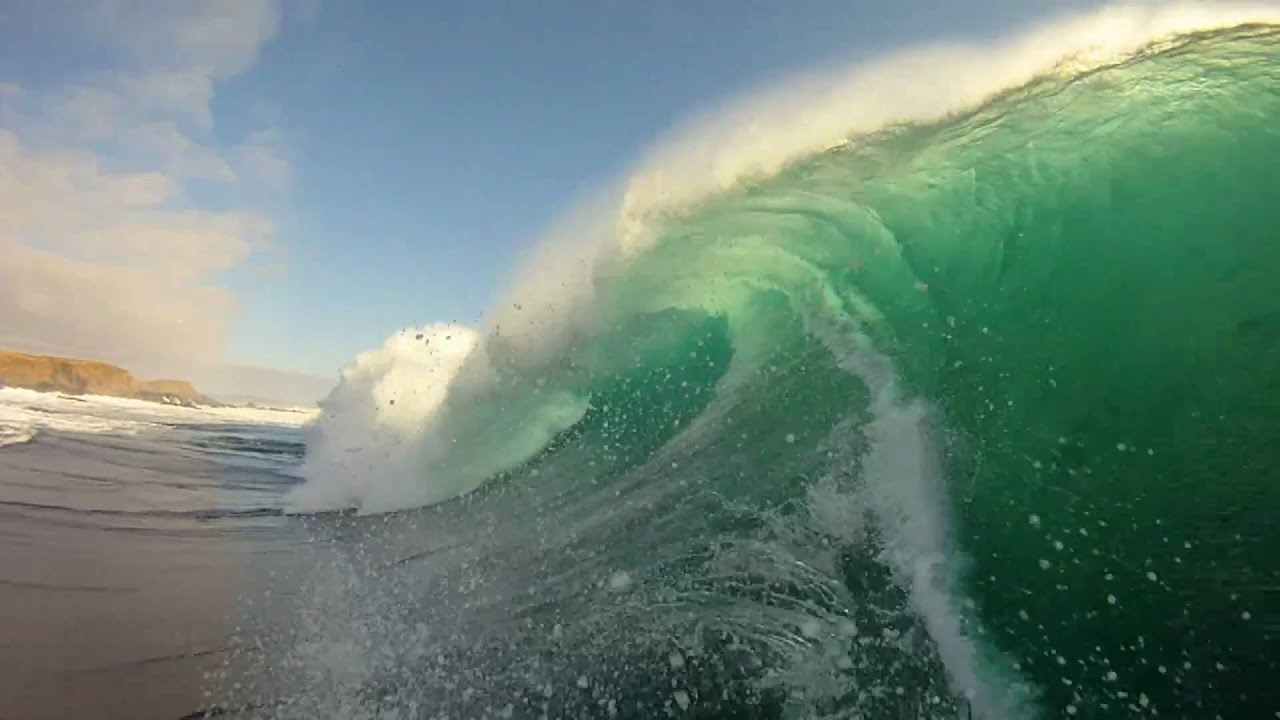 Gopro Hd Hero Camera Big Wave Surfing In Chile Youtube