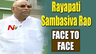 TDP MP Rayapati Sambasiva Rao Exclusive Interview