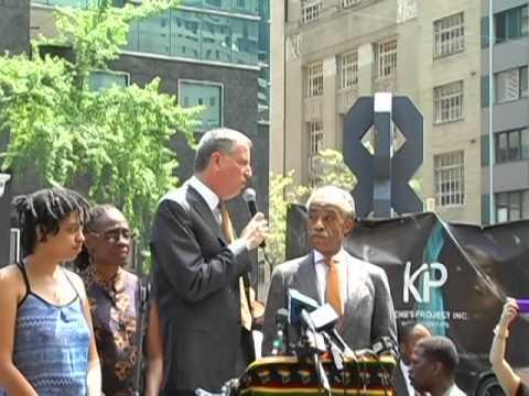 BRING BACK OUR GIRLS! Mayor DeBlasio & Rev Al Sharpton! 05/10/14 Protest @ Nigerian Consulate!