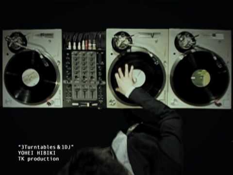 3 Turntables & 1 DJ - YOHEI HIBIKI
