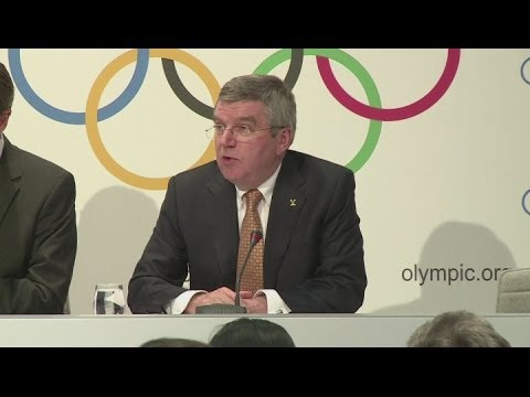 IOC President confirms 'protest zones' for Winter Olympics [AMBIENT]