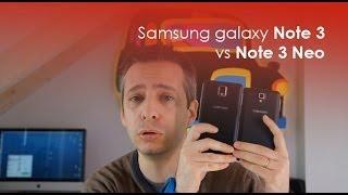 Samsung Galaxy Note 3 Vs Note 3 Neo: Il Confronto Di