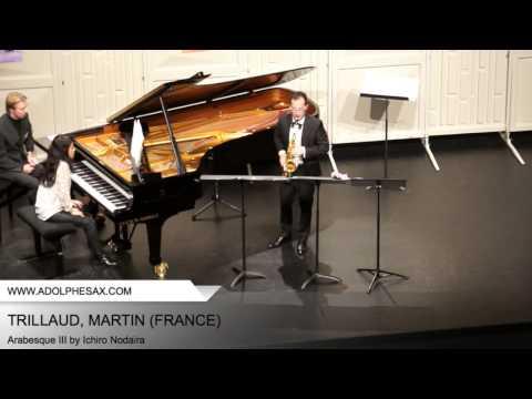 Dinant 2014 – Trillaud; Martin – Arabesque III by Ichiro Nodaira