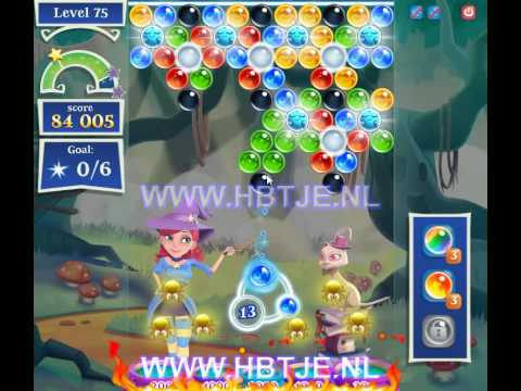 Bubble Witch Saga 2 level 75
