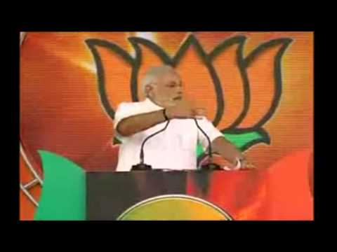 Narendra Modi Jokes On Corrupted Congress