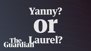 Yanny v Laurel video: which name do you hear? – audio