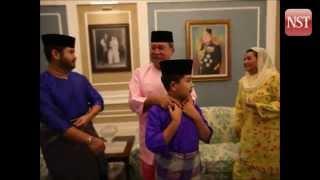 Johor Royal Family prepares to welcome Syawal