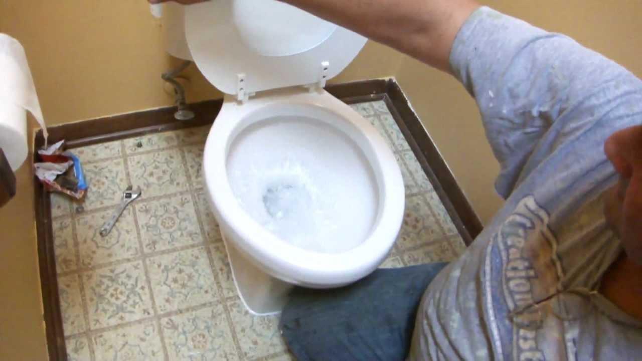 Toilet Repair: Youtube Toilet Repair Flange