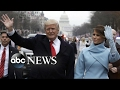 President Trumps Inauguration Day: Part 1
