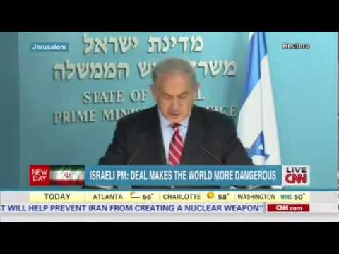 Netanyahu: Iran Nuclear Deal Is A Historic Mistake