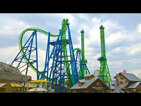 Awesome ride, freefall and roller coaster
