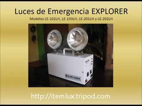Luces de emergencia youtube - Luces emergencia led ...
