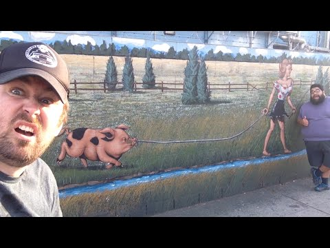 TheDailyWoo - 988 (3/16/15) Worlds Largest Pig Mural