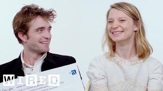 Robert Pattinson & Mia Wasikowska Answer the Web's Most Searched Questions | WIRED