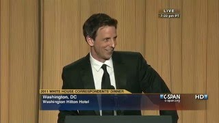 C-SPAN: Seth Meyers Remarks At The 2011 White House
