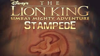 The Lion King Simba's Mighty Adventure Part 3 Stampede