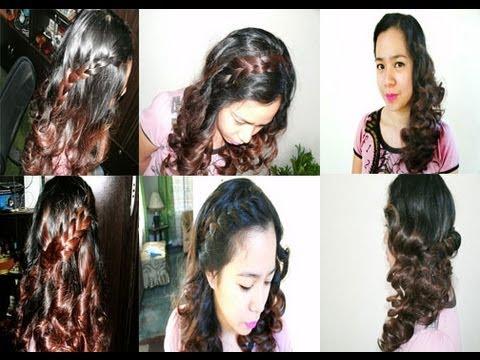 5 easy cute birthday hairstyles/ backtoschool hairstyles
