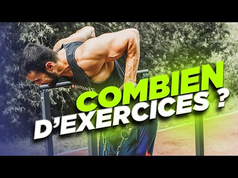 COMBIEN D'EXERCICES PAR MUSCLE EN MUSCULATION ?