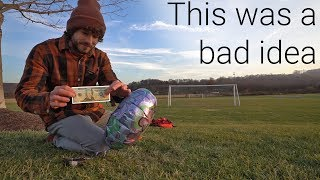 I Taped $20 To A Balloon And Let It Go... Then Chased It
